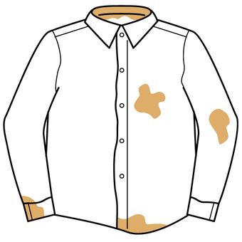 더러운 Y 셔츠