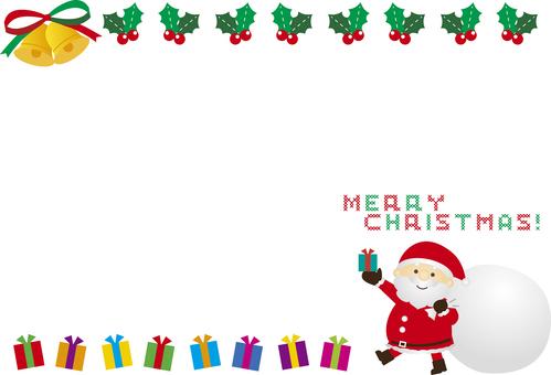 Santa Frame 2