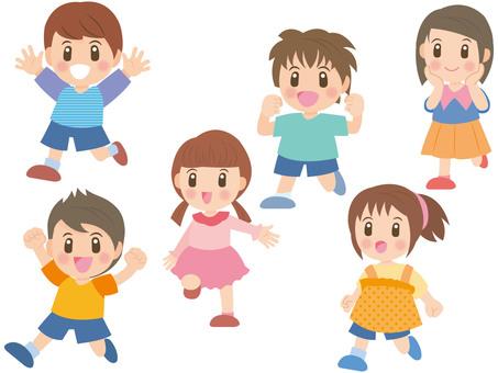 Running children mini A