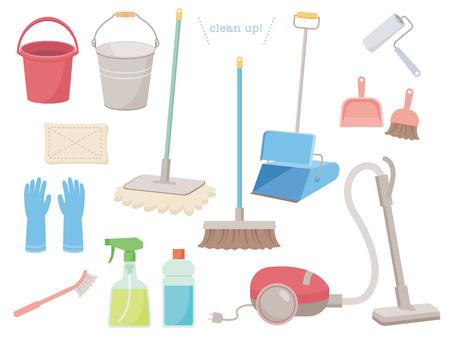 掃除用具いろいろ