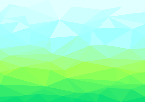 Blue and green digital polygon background material