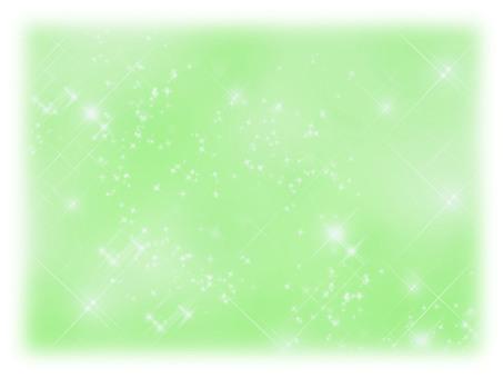 Glittering background Green blur