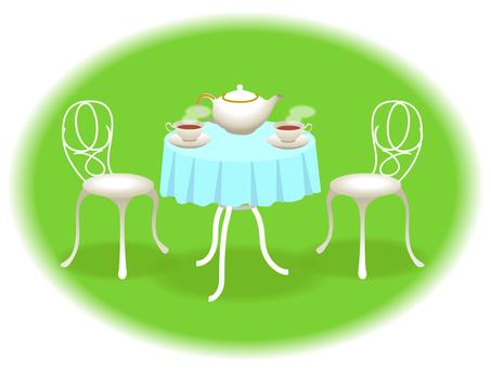 Garden tea party 02