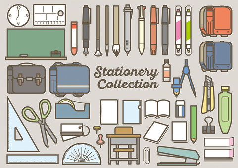 Stationery color