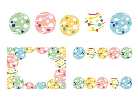 Yo-yo illustration background