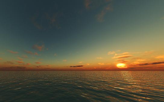 Horizon and sky 2
