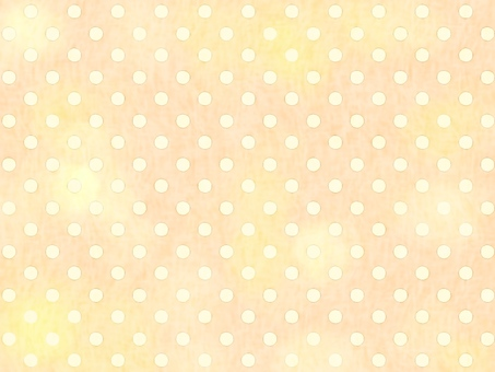Hand book き水玉柄 background 007 yellow