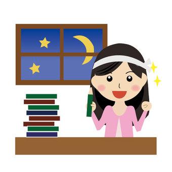 為入學考試而學習