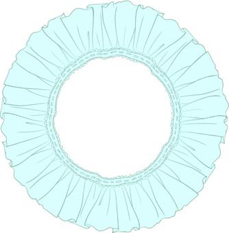 Frill's circle (blue)