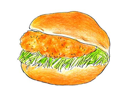 Croquette bread