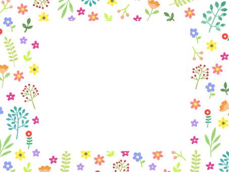 작은 꽃의 프레임 ②
