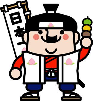Uncle fairy Momotaro