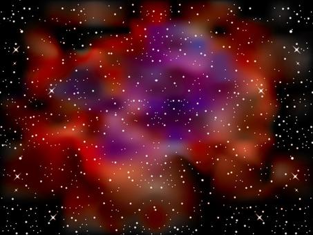 Space (1) Rosa Nebula
