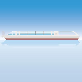 Sea bus ship