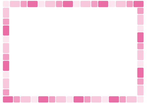 Frame - Round Group B - Pink