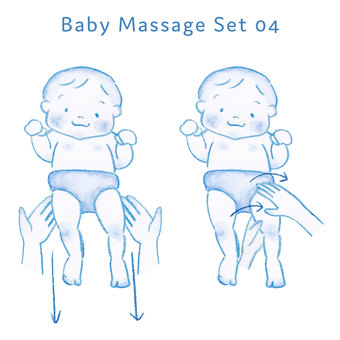 Baby massage set 04