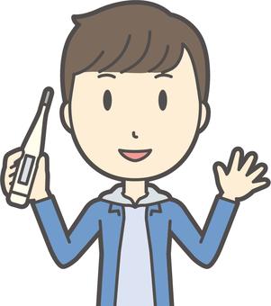 中学生男子私服-304-バスト