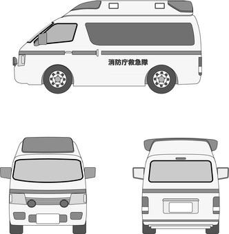 救護車1灰色