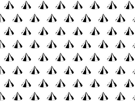 Turn mark pattern (monochrome)