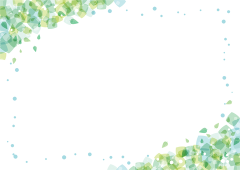 Зеленая рамка рамки