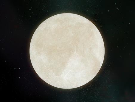 Space wallpaper full moon ⑤