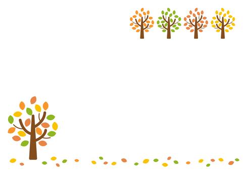 Fall image material 113