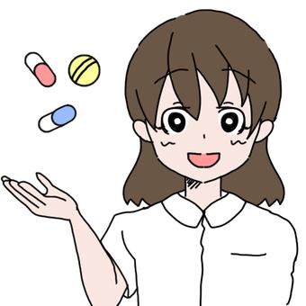 Women in white clothes (medicine)