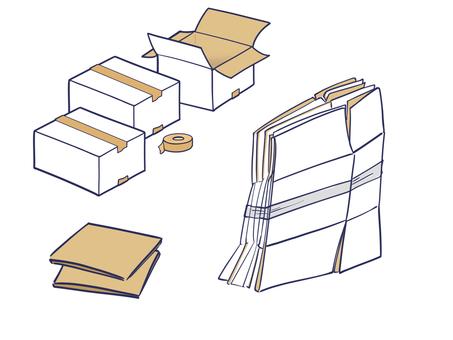 Cardboard various