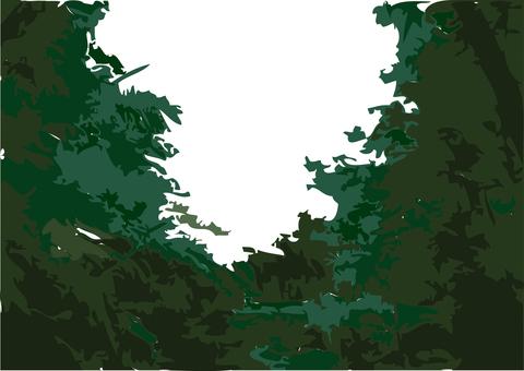 森林的圖像_黑暗