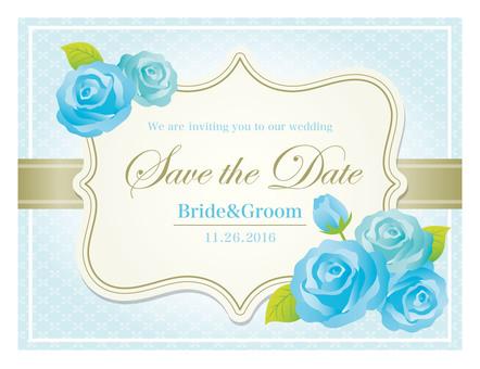 Wedding invitation material 3