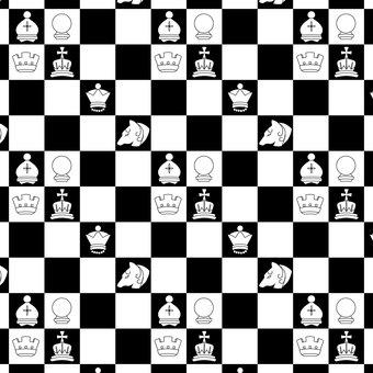 Chessboard pattern [white]