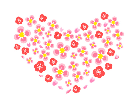 【Pastel】 Plum Heart