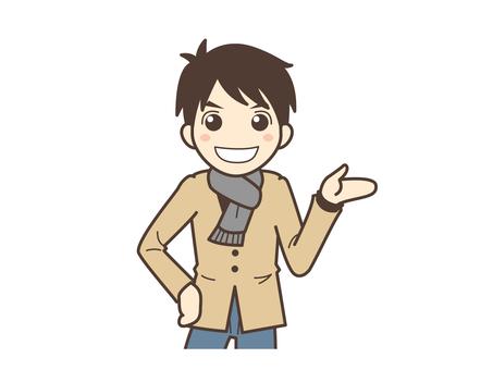 A015_ A man in plain clothes
