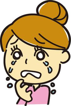 Dumpling women - cry