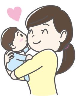 Mama _ hugging