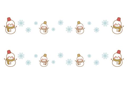 Snowman Line