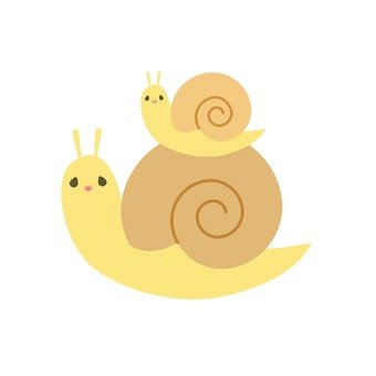 Parent and child snail