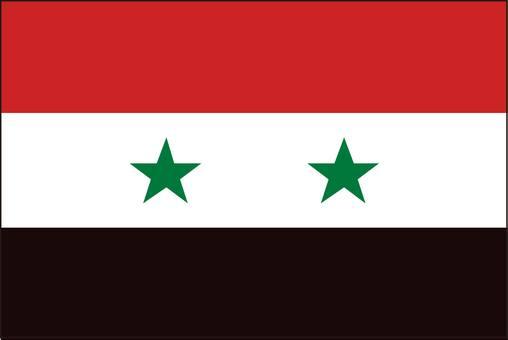 Syria Flag (no name)