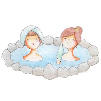 Hot spring (2 for women)