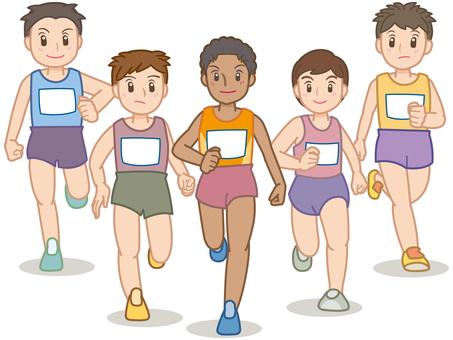 Marathon player A