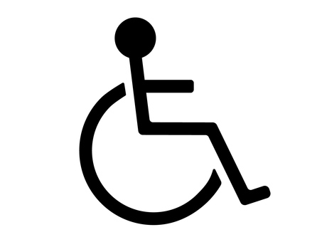 휠체어 마크