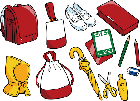 Elementary school entrance preparation set
