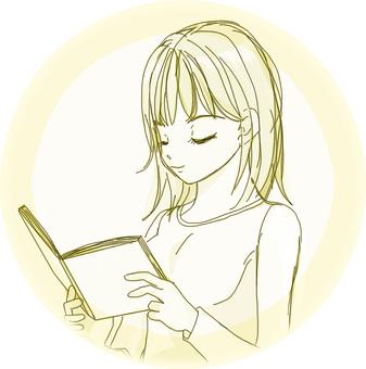 I read a book