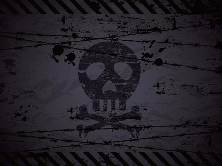 Skull background 05