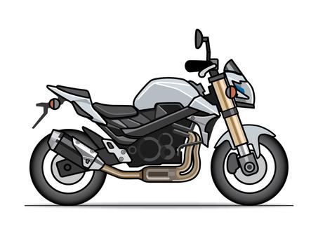 Motorcycle illustration