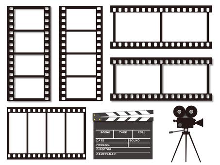 Movie and film illustration