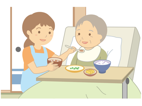 Visit nursing care · meal