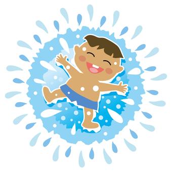 It's summer! It's a pool!