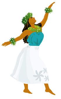 Hula Dance Hula Girl 09