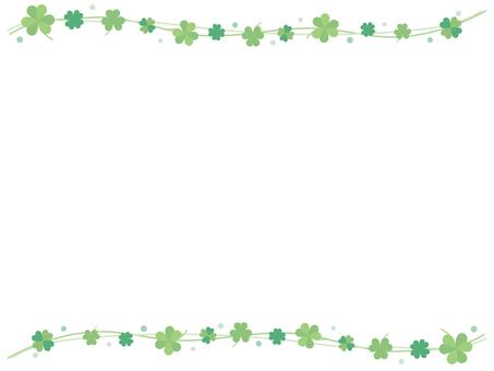 Clover frame 1